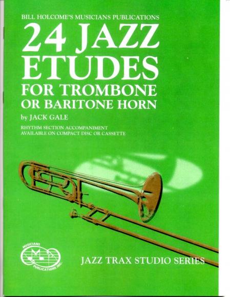 Trombone Jazz Etudes and Duets