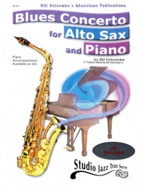 Blues Concerto for Alto Sax & Piano (Book and CD)