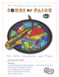 Songs of Faith for Alto Saxophone, Volume 2 (Book and CD)