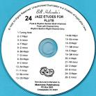 24 Jazz Etudes for Flute (Audio Download)
