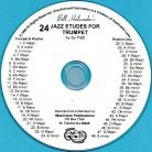 24 Jazz Etudes for Trumpet (Audio Download)