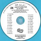 24 Jazz Etudes for Alto Sax (Audio Download)