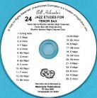 24 Jazz Etudes for Tenor Saxophone (Audio Download)