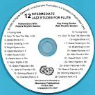 12 Intermediate Jazz Etudes for Flute (Audio Download)