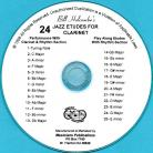 24 Jazz Etudes for Clarinet (Audio Download)