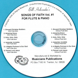 Songs of Faith for Flute and Piano, Volume 1 (Audio Download)