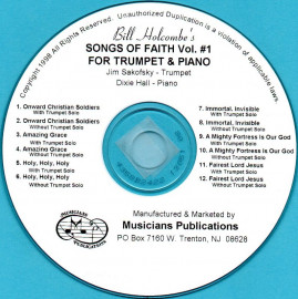 Songs of Faith for Trumpet and Piano, Volume 1 (Audio Download)