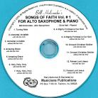 Songs of Faith for Alto Saxophone, Volume 1 (Audio Download)