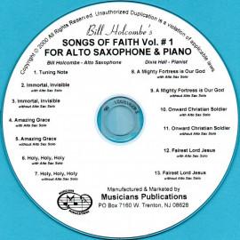 Songs of Faith for Alto Saxophone, Volume 1 (Audio Download)