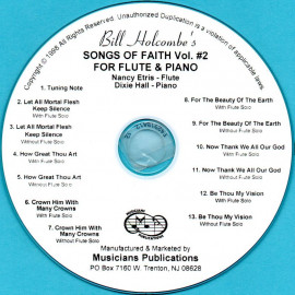 Songs of Faith for Flute and Piano, Volume 2 (Audio Download)