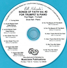 Songs of Faith for Trumpet and Piano, Volume 2 (Audio Download)