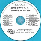 Songs of Faith for French Horn and Piano, Volume 1 (Audio Download)