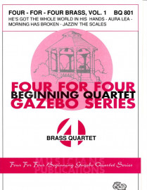 Four-For-Four Brass Quartets, Volume 1