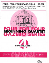 Four-For-Four Brass Quartets, Volume 2