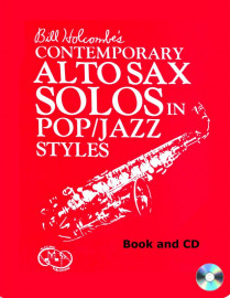 Contemporary Alto Saxophone Solos in Pop/Jazz Style (Book and CD)