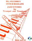 12 Intermediate Jazz Etudes for Trumpet and Trombone (Book and CD)