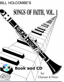 Songs of Faith for Clarinet and Piano, Volume 1 (Book and CD)