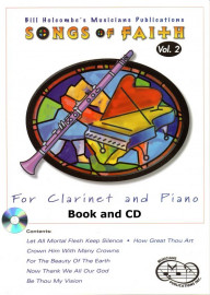 Songs of Faith for Clarinet and Piano, Volume 2 (Book and CD)