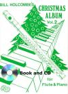 Christmas Album for Flute and piano, Volume 2 (Book and CD)