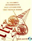 12 Intermediate Jazz Etudes for Two French Horns (Book and CD)