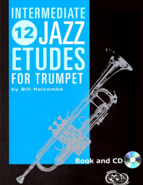 12 Intermediate Jazz Etudes for Trumpet (Book and CD)