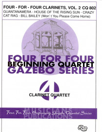 Four for Four Clarinets, Volume 2