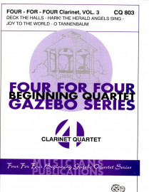 Four-for-Four Clarinet Quartets, Volume 3 (Christmas)