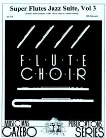 Super Flutes Jazz Suite, Volume  3