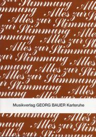 Alles Zur Stimmung (Director/Conductor Score)