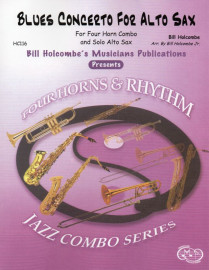 Blues Concerto for Alto Saxophone (for Jazz Combo)