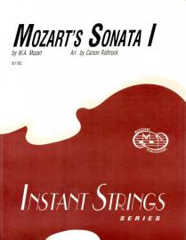 Mozart's Sonata I