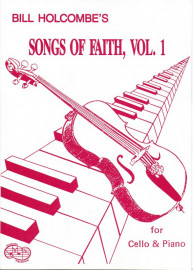 Songs Of Faith for Cello (Book only)
