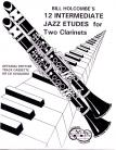12 Intermediate Jazz Etudes for Two Clarinets