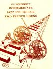 12 Intermediate Jazz Etudes for Two French Horns