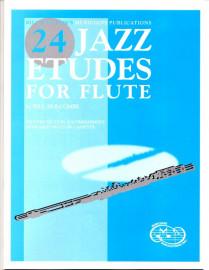 24 Jazz Etudes for Flute