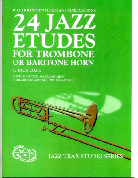 Trombone Jazz Etudes and Duets
