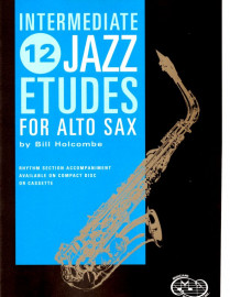 12 Intermediate Jazz Etudes for Alto Saxophone
