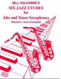12 Intermediate Jazz Etudes for Alto/Tenor Saxophone