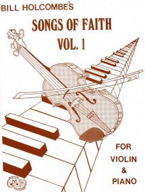 Songs of Faith for Violin, Volume 1 (Book only)